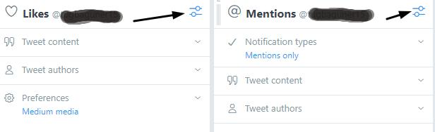 tweetdeck filtreleme