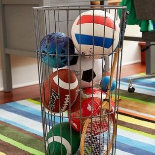 Kids Flea Market Wire Ball Bins | Crate and Barrel