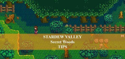 Secret Woods In Stardew VAlley