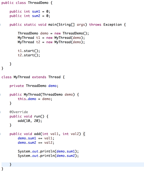 Java 23 Critical Section And Race Conditions