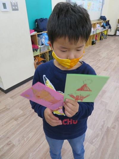 【学童クラブ】台北YMCAからのクリスマスカード