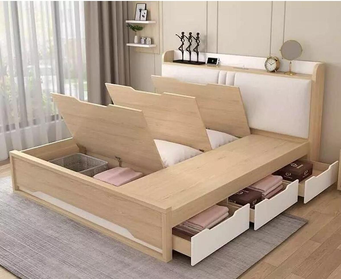 Giường có hộc tủ dưới gầm