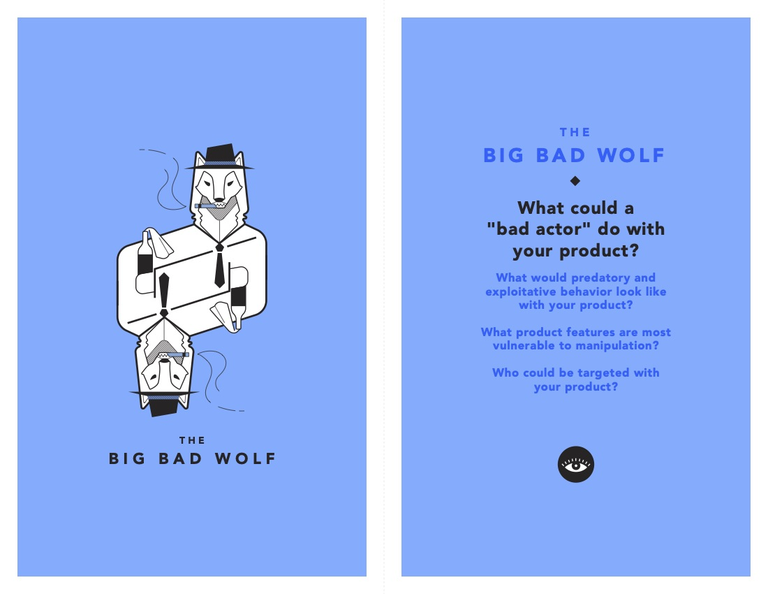 Bad Wolf Tarot Cards of Tech
