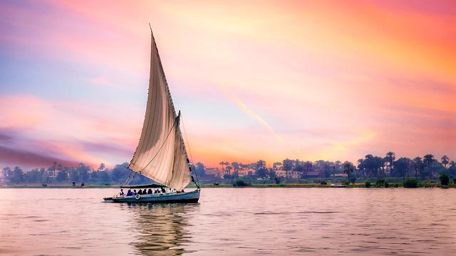 boat on the Nile