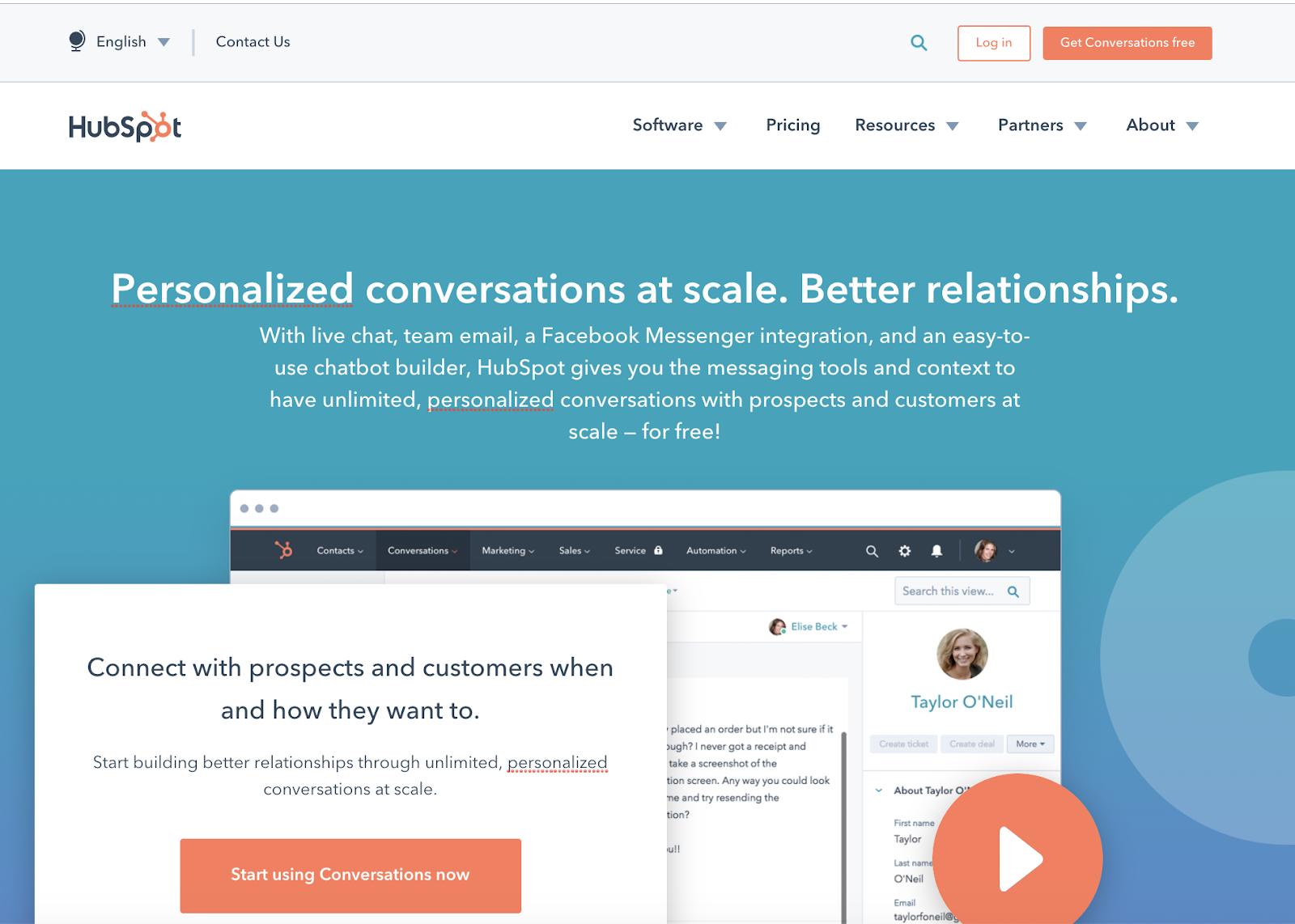 HubSpot conversations copy audit
