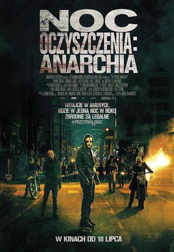 Polski plakat filmu 'Noc Oczyszczenia: Anarchia'