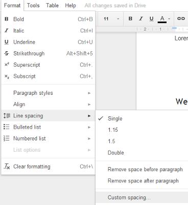 Cal High Ed Tech Mla Setup In Google Docs