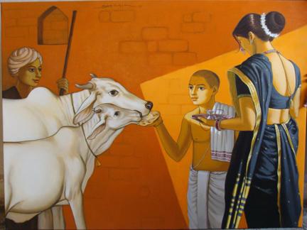Govatsa Dwadashi ritual