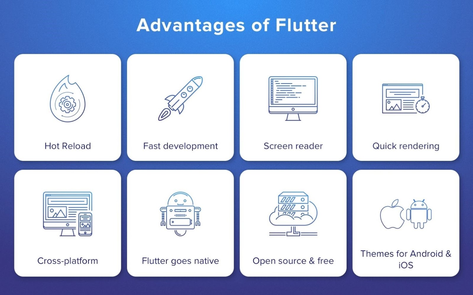 advantages of flutter