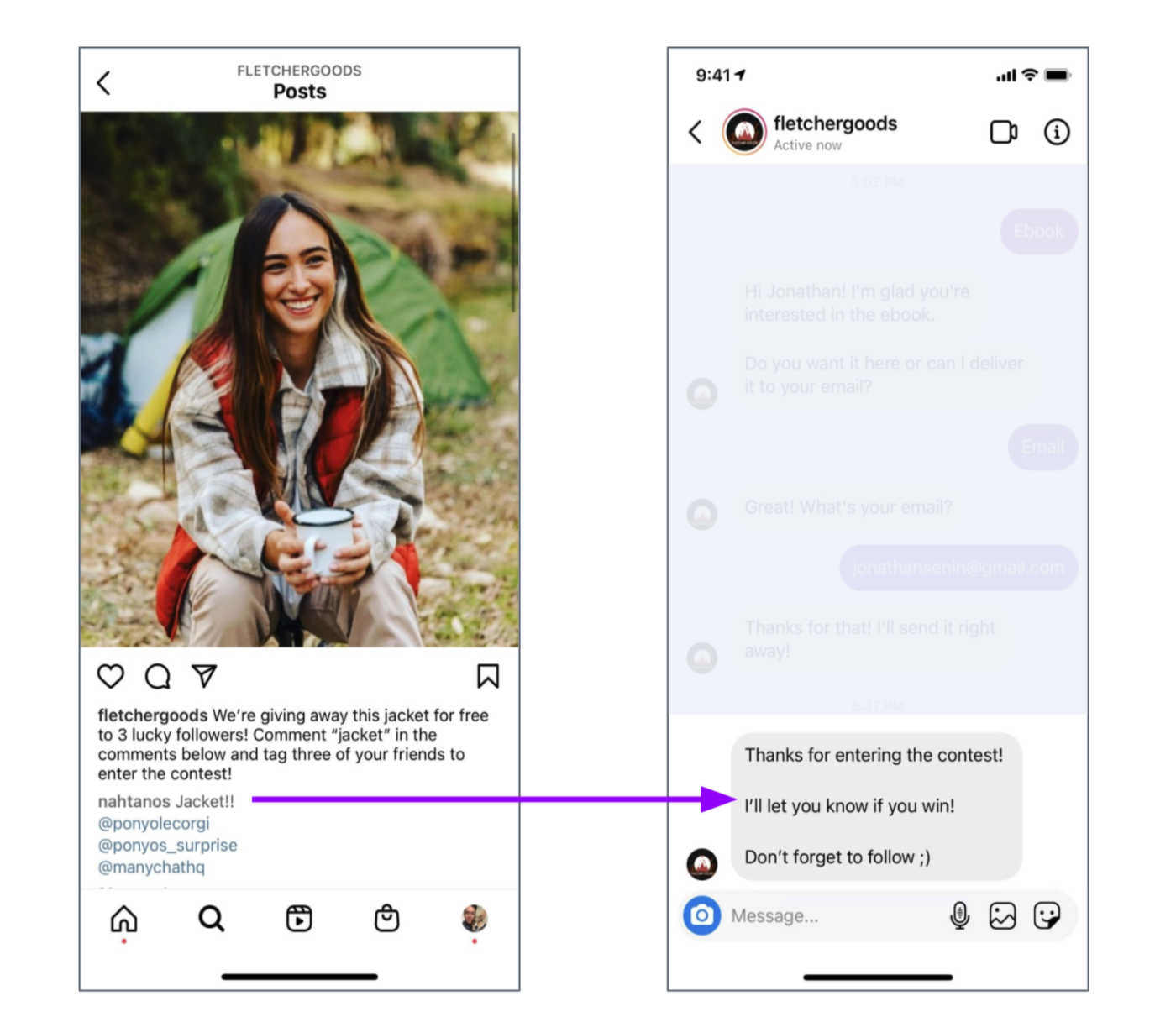 Instagram comments growth tool