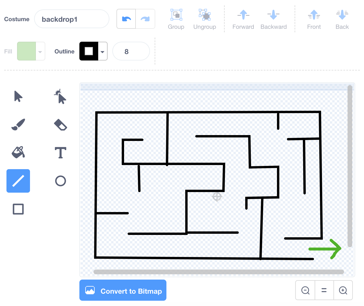How to Make a Maze in Scratch