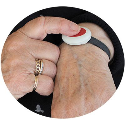 Personal safety devices for elderly: emergency button, ADUK GmbH
