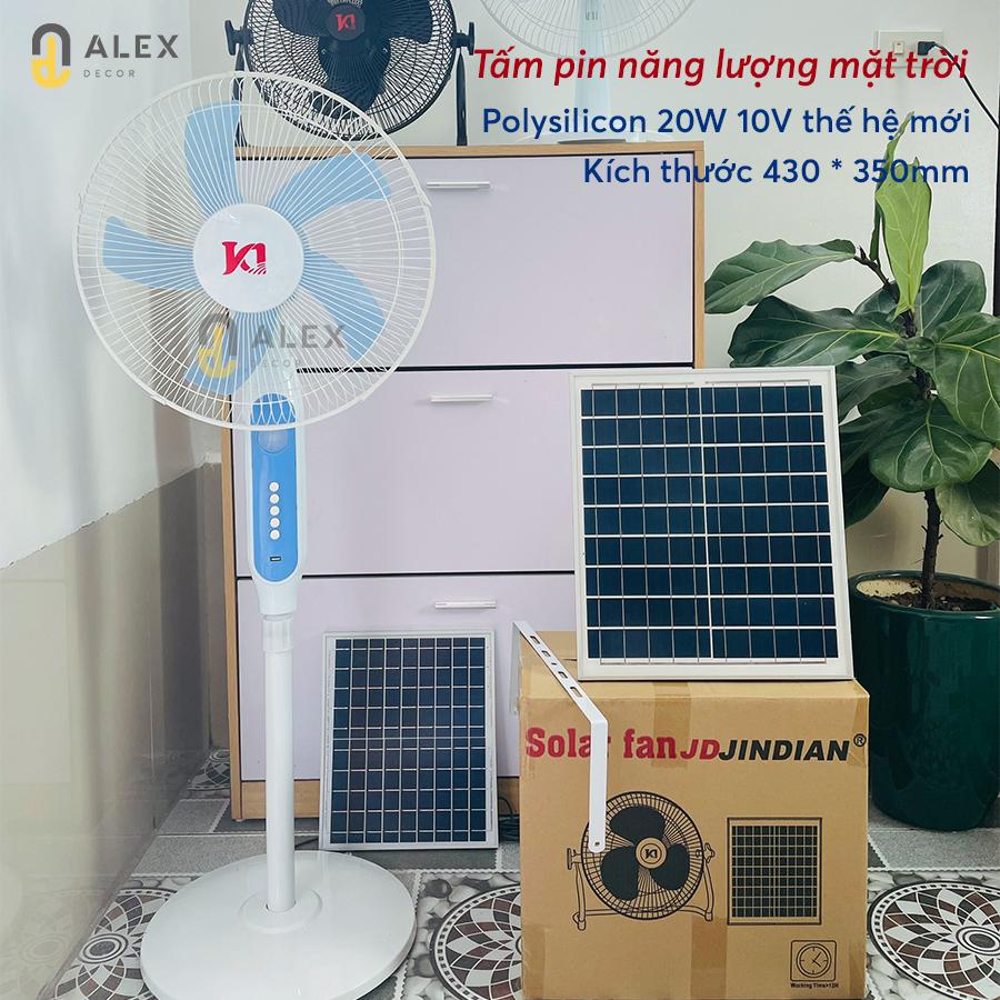 quạt năng lượng mặt trời giá rẻ Tiệm Decor