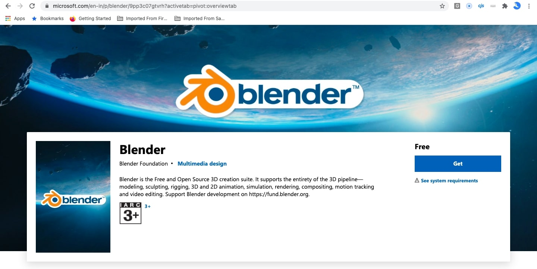 Get Blender