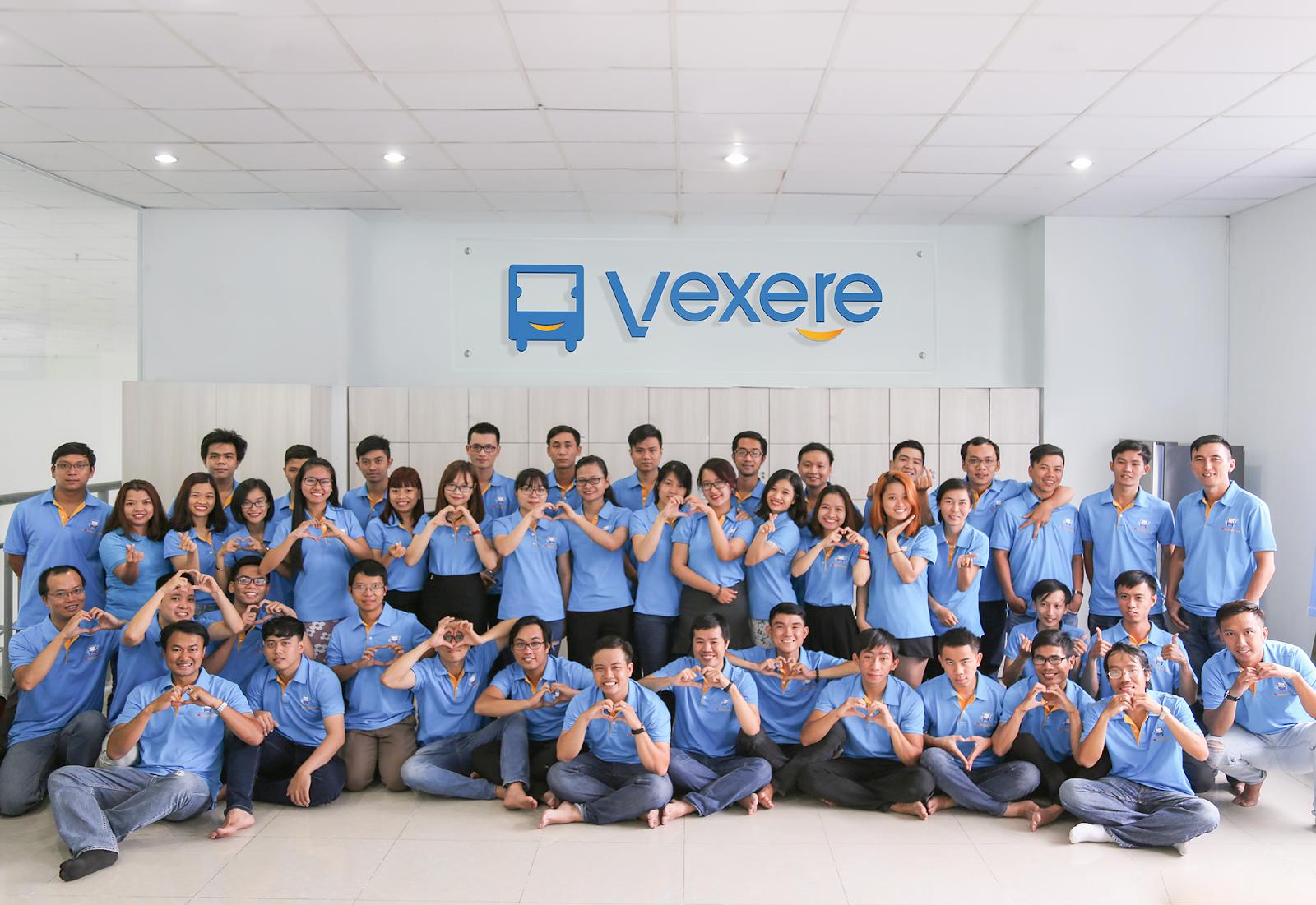 Đội ngũ trẻ đầy nhiệt huyết của VeXeRe