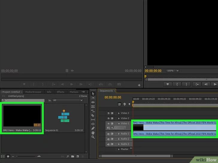Cách xoay video trong Adobe Premiere