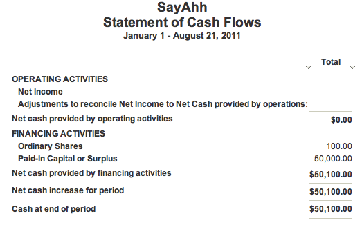 overview of balance sheet and statement of cash flows