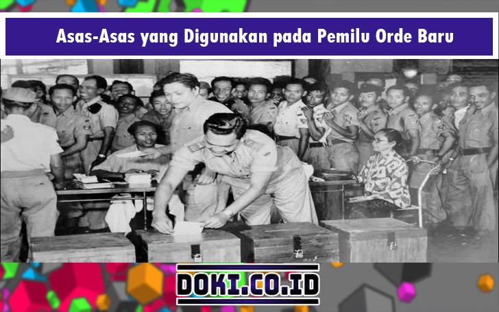 perbedaan pemilu orde lama dan orde baru