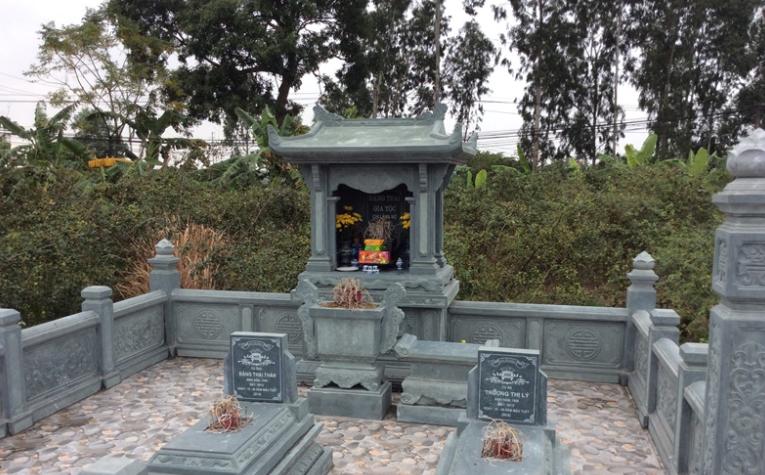 Cần lựa chọn vị trí xây dựng lăng mộ cho phù hợp