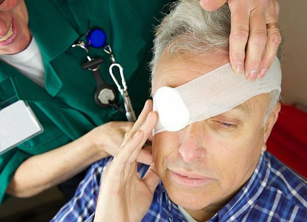 Chấn thương mắt có thểgây viêm mủ nội nhãn
