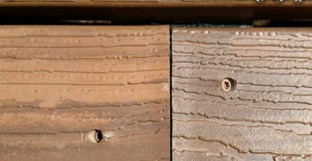 hide the ends of decking.