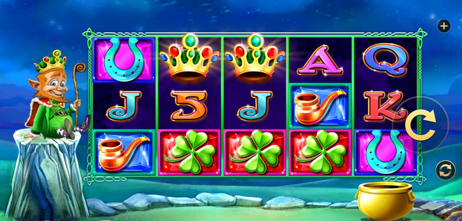 The Leprechaun King Slot Game