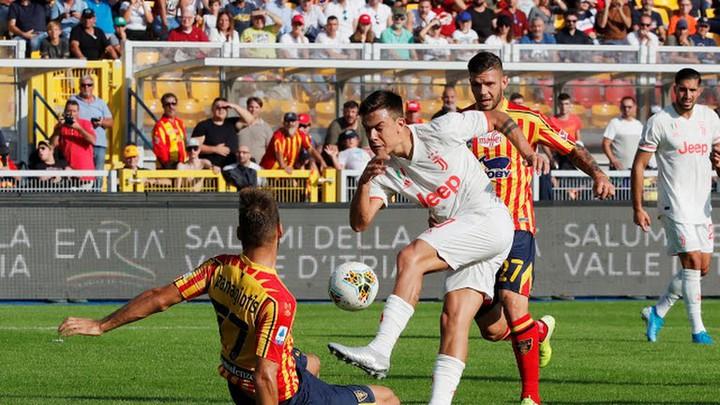 Màn trình diễn ấn tượng của các cầu thủ Lecce trong trận lượt đi.