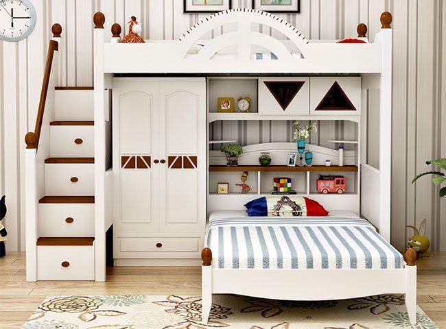 những mẫu giường tầng đẹp dễ thương