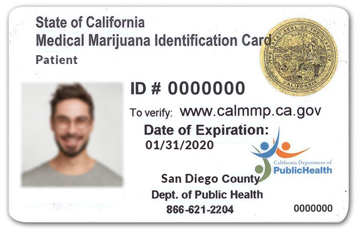 State Issued California MMIC Card