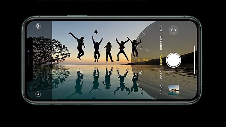 góc siêu rộng iPhone Pro
