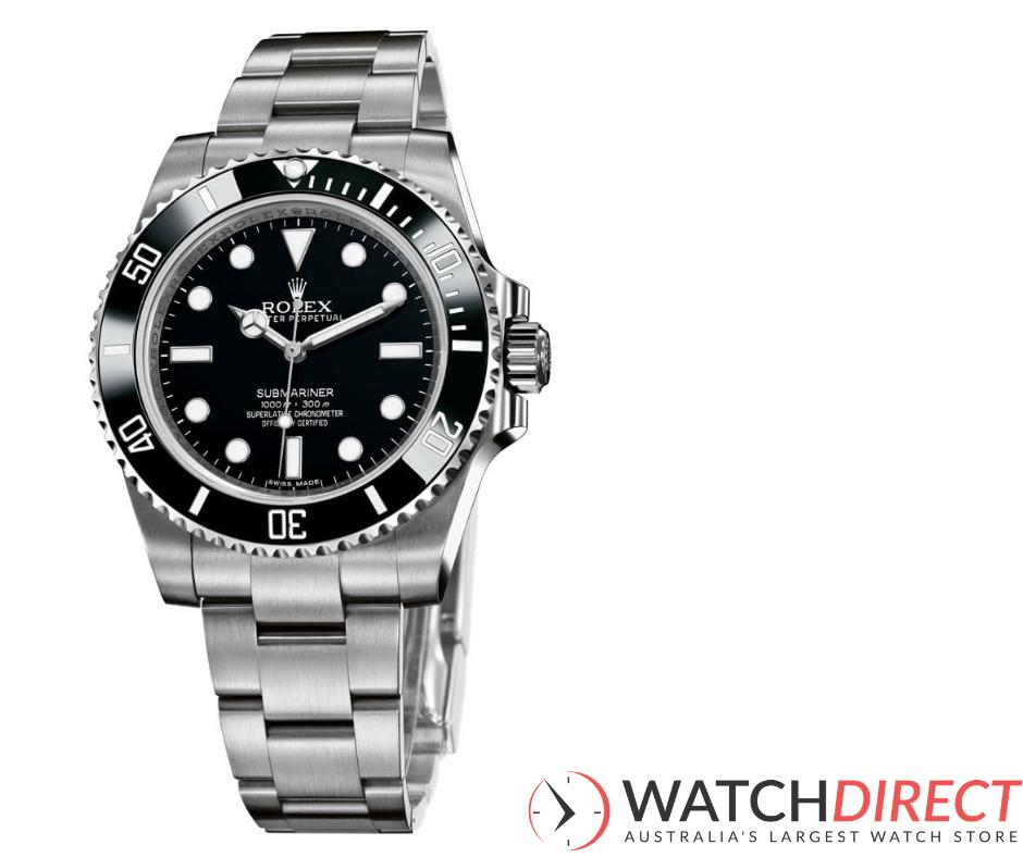 Rolex Submariner Automatic Black Dial Men's Watch.