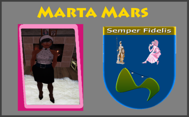 Head Maid Marta of Aya Sissy Maid Sanctuary in Second Life