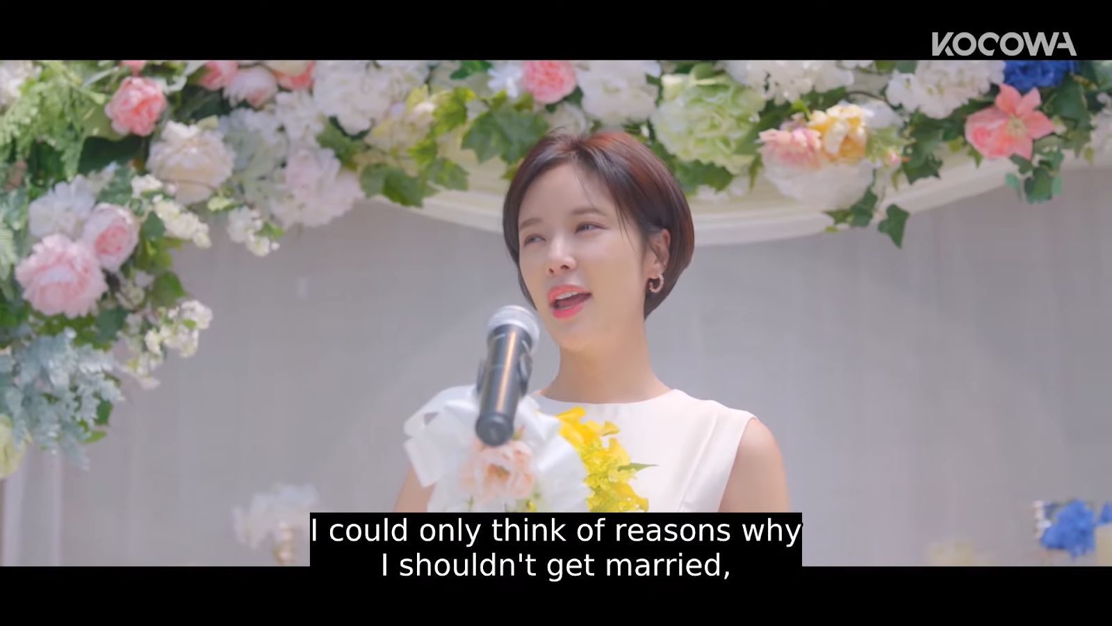 I could only think of reasons i shouldn't get married