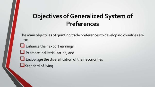 Image result for generalised system of preferences