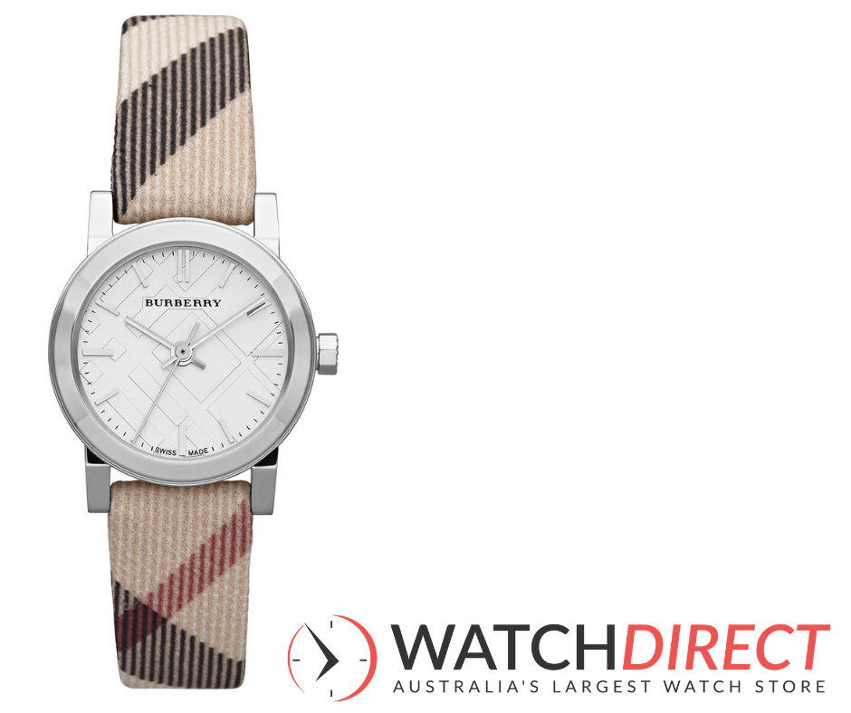 The Burberry Check Fabric Swiss Made Women's Watch is a sure-fire way to ensure a happy wife, happy life this Christmas.