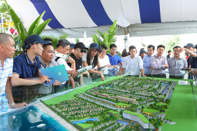 Hon 12.000 luot khach tham quan trien lam BDS Novaland Expo hinh anh 2