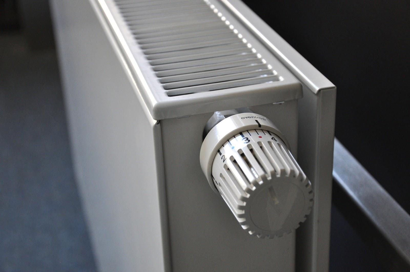 Radiator van dichtbij