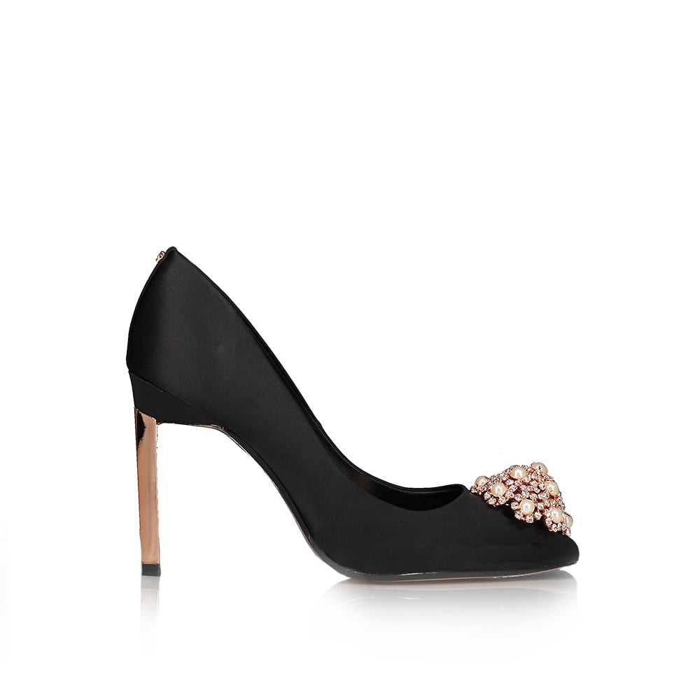 TED BAKER Peetch 2 Brooch Embellished Courts