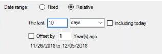 date range relative