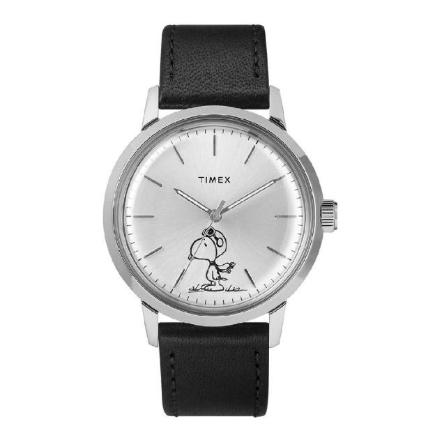 TIMEX TM-TW2R94800 Marlin® Automatic X Peanuts Featuring Snoopy Flying Ace  / Snoopy Edition นาฬิกาข้อมือผู้ชาย สีดำ   Central.co.th