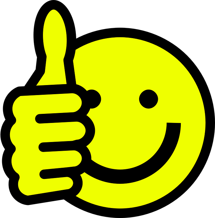 Smiley, Face, Happy, Thumbs Up ...