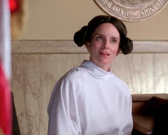 Liz Lemon as Princess Leia