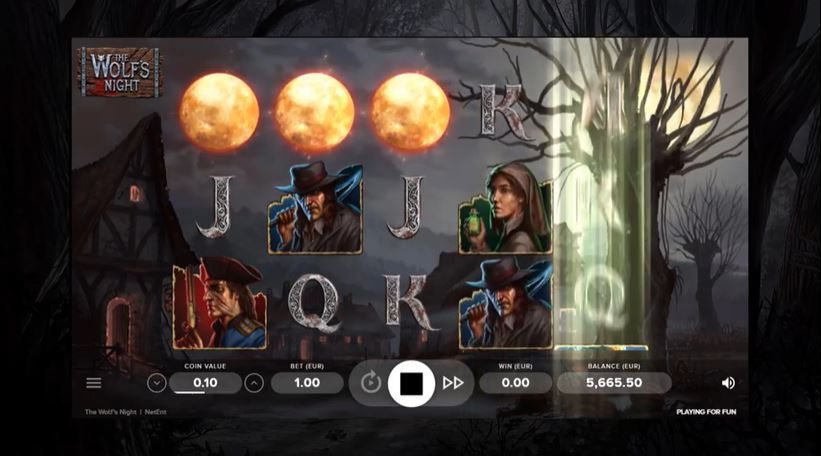 The Wolfs Bane Slot by Netent - Scatters Casino