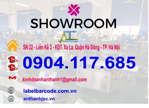 địa chỉ showroom tại an thành