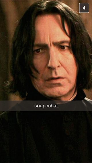 4. Snape-chat?