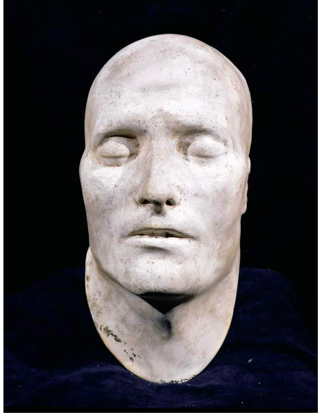Image of Death Mask of Napoleon by D. Brucciani (plaster) / Watts Gallery, Compton, Surrey, UK © Watts Gallery / © Trustees of Watts Gallery / Bridgeman Images