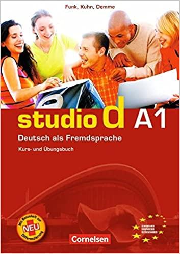 Giáo trình Studio d A1 là một trong những giáo trình học tiếng Đức hiệu quả