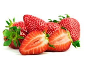 strawberries good source of vitamin c good for hair growth