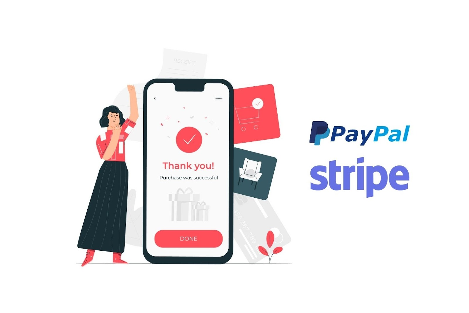 paypal and stripe for better financial transactions