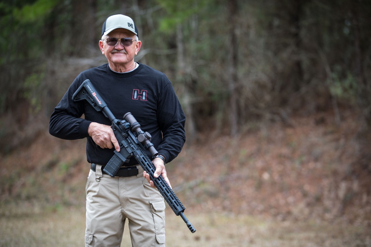 Jerry Miculek, sig rifle, good trigger discipline